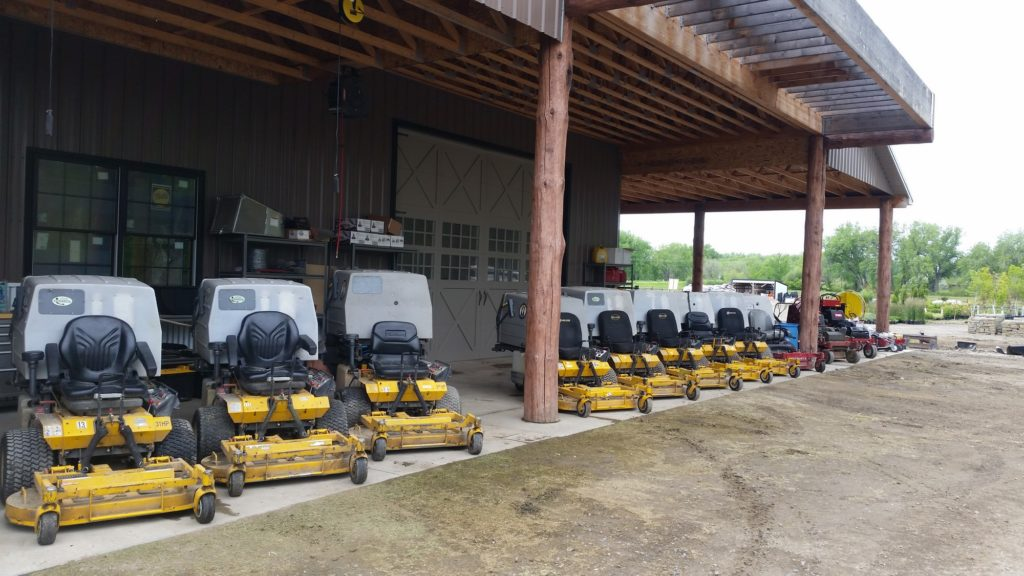 Our team of lawn mowers, tree trimmers, and lawn fertilization experts will keep your yard looking great.