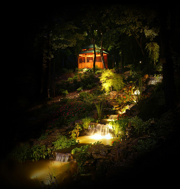 Landscape lighting installation provides extra beauty and usability for your outdoor spaces.